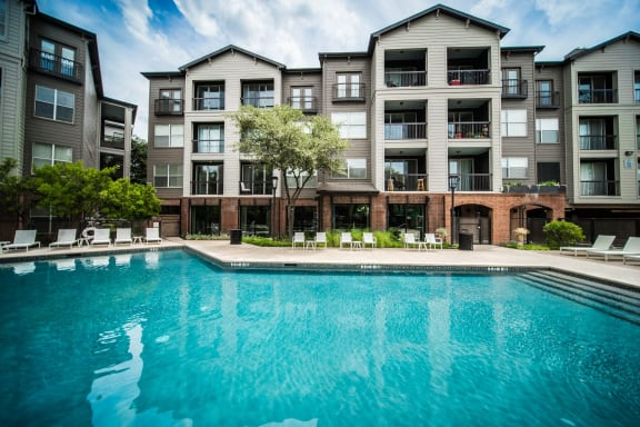 apartments on south congress with a pool