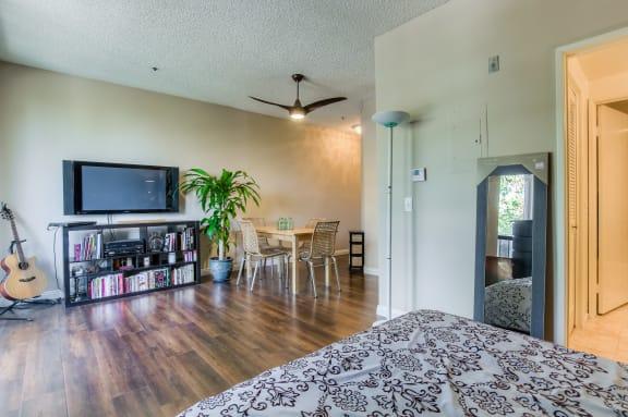 Warm Living And Dining Room at Hollywood Vista, California, 90046