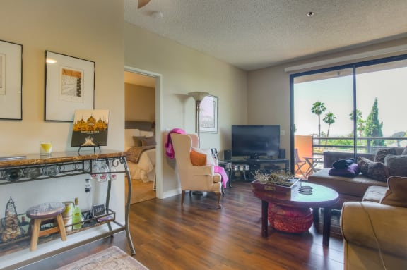 Spacious And Well Appointed Living Spaces at Hollywood Vista, Hollywood, CA