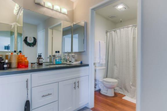 Upgraded Bathroom Fixtures at La Vista Terrace, California