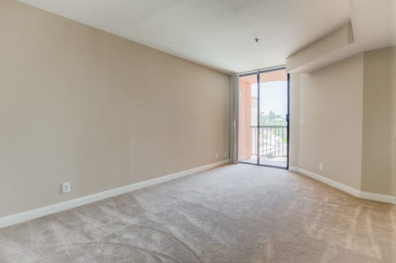 Bedroom With Attached Balcony at La Vista Terrace, Hollywood, 90046