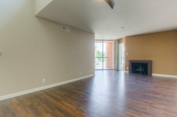 Engineered Wood Flooring at La Vista Terrace, California, 90046