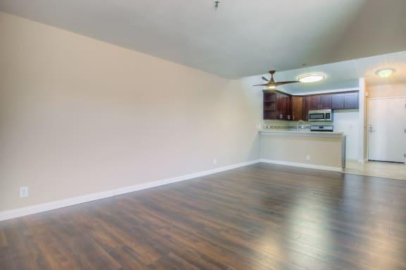 Alternate View Of Living Room at La Vista Terrace, Hollywood, CA, 90046