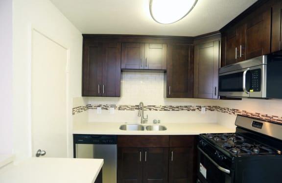 New Cabinets at La Vista Terrace, Hollywood