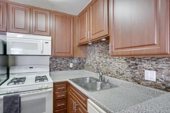 Kitchen at Park Merridy, Northridge, CA