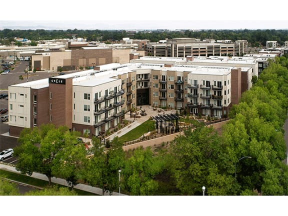 Beautiful Surroundings at Cycle Apartments, Ft. Collins, Colorado