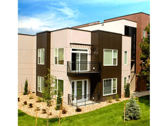 Private Garages and Motorcycle Garages at Cycle Apartments, Ft. Collins, Colorado