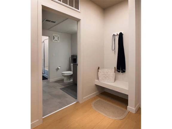 Upgraded Bathroom Fixtures at Cycle Apartments, Ft. Collins, CO, 80525