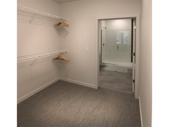 Closet at Cycle Apartments, Ft. Collins, CO, 80525