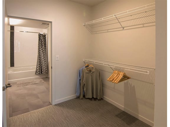 Extra Large Closet Space at Cycle Apartments, Ft. Collins, CO