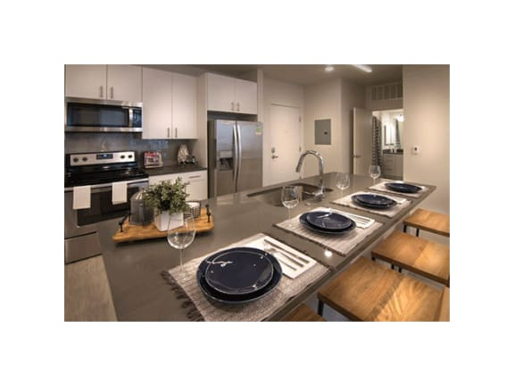 Contemporary Finishes at Cycle Apartments, Ft. Collins, CO, 80525