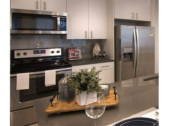 Eat-in Kitchens at Cycle Apartments, Colorado, 80525