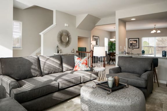 Brand new, three-level, light-filled homes at Townes at Pine Orchard, Maryland