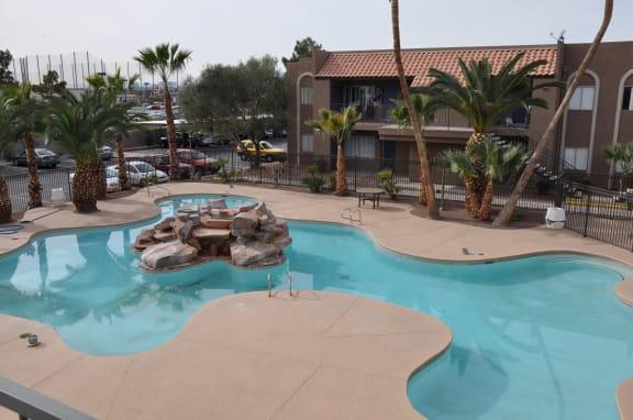Cool Blue Pool at Playa Vista Apartments, Pacifica SD Management Las Vegas, 89110