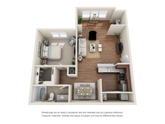 Floor Plan  A1S - Pimlico with Sunroom