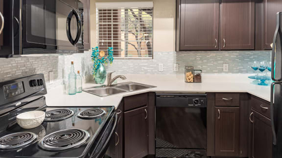 Newly Upgrade Kitchen at La Reserve Villas Apartments in 85737
