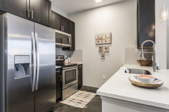 Kitchen Appliances at Azure Houston Apartments, Houston, Texas