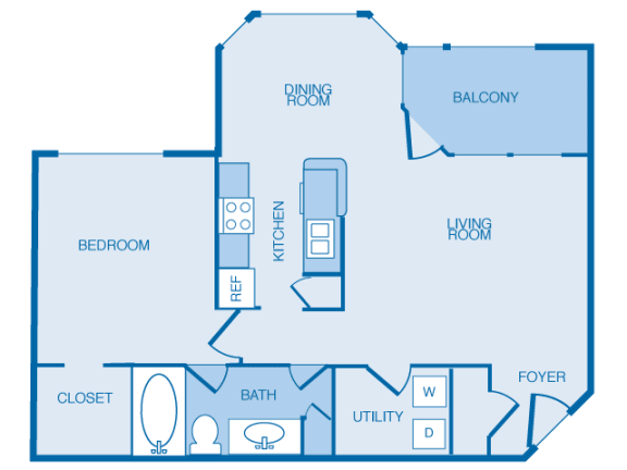 A1 Floorplan at The Legends at Indian Springs, Louisville