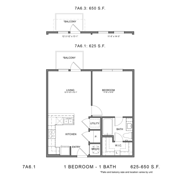 Floor Plan  STAG'S LEAP 7A6.1