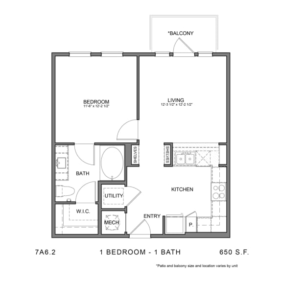 Floor Plan  STAG'S LEAP 7A6.2