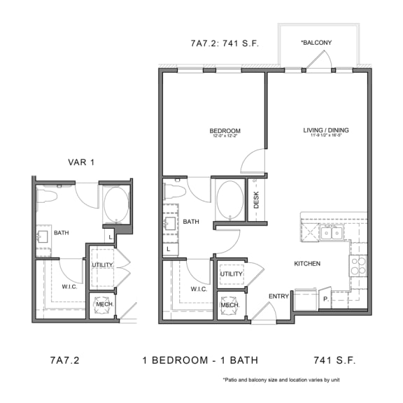 Floor Plan  STAG'S LEAP 7A7.2
