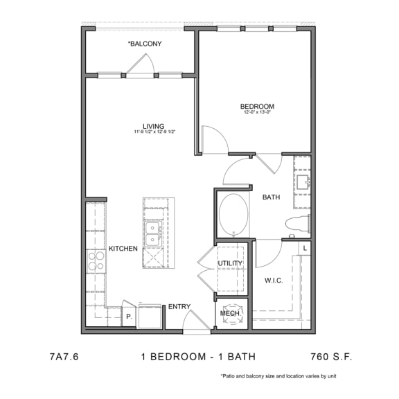 Floor Plan  STAG'S LEAP 7A7.6
