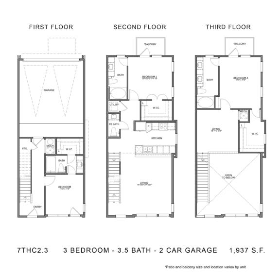 Floor Plan  STAG'S LEAP 7THCGG2.3