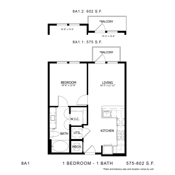 Floor Plan  STAG'S LEAP 8A1