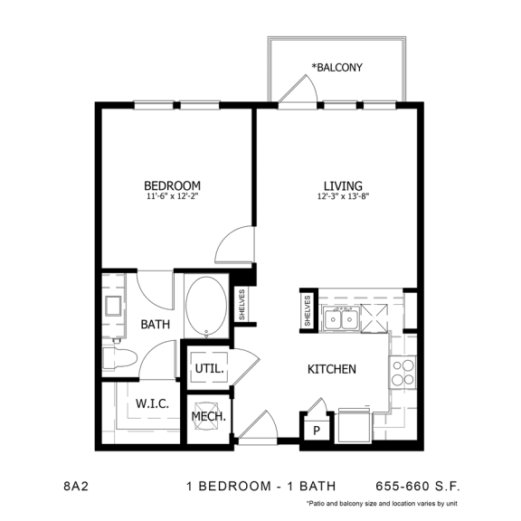 Floor Plan  STAG'S LEAP 8A2