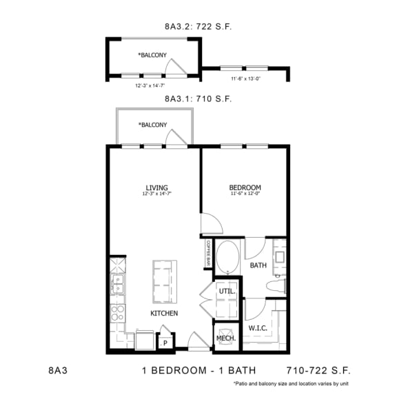 Floor Plan  STAG'S LEAP 8A3