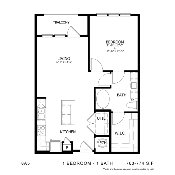 Floor Plan  STAG'S LEAP 8A5