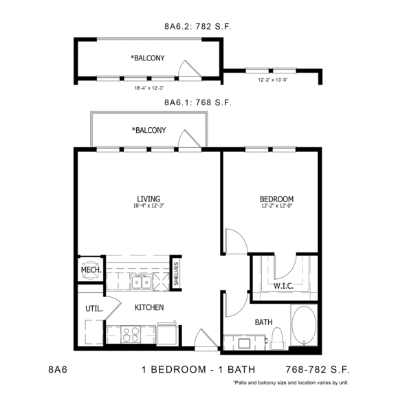 Floor Plan  STAG'S LEAP 8A6