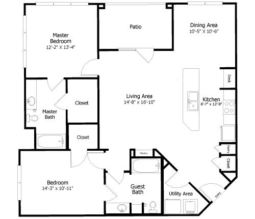 Floor Plan  3B4