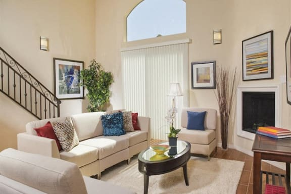 Fireplace at the Verandas, CA 91304
