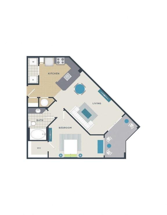 Floor Plan  Floor plan at 712 Tucker, Raleigh,North Carolina