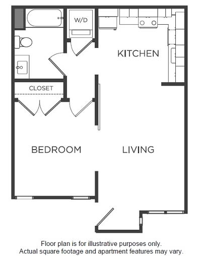 Floor Plan  A1 Floor Plan at Mission Bay by Windsor
