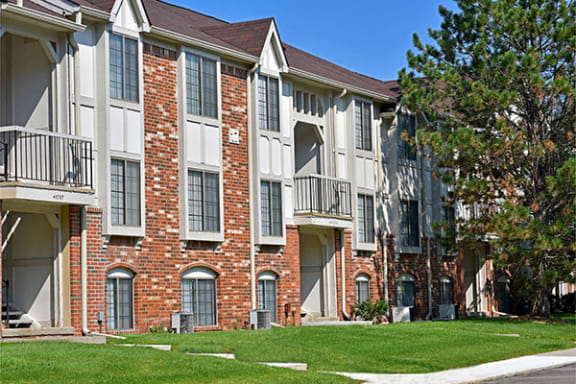 Balconies with Views at The Springs Apartment Homes, Novi, MI