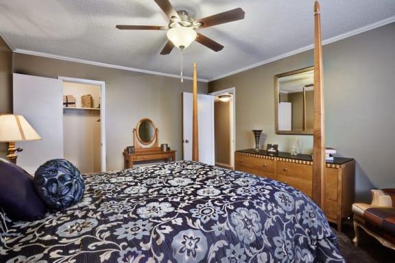 Spacious Bedrooms at Juniper Springs A Concierge Community, Austin, TX
