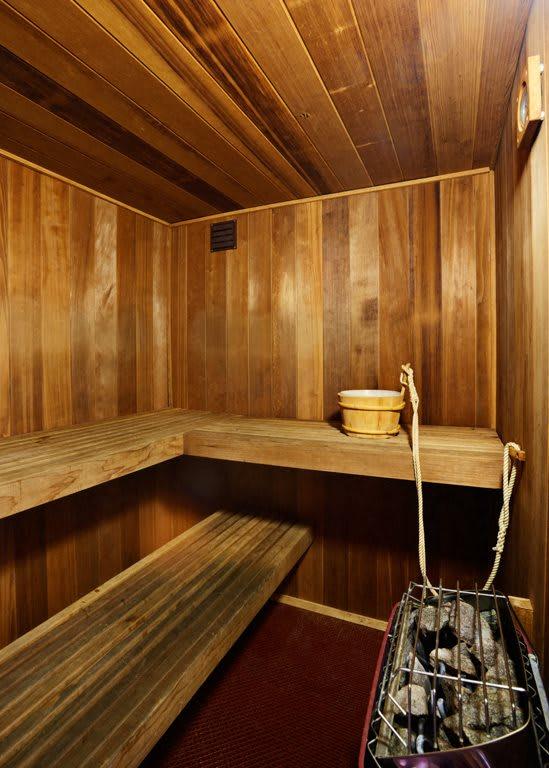 Sauna at Juniper Springs A Concierge Community, Austin