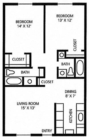 Floor Plan  Juniper Springs Concierge Community Cypress floor plan at Juniper Springs A Concierge Community, Texas, 78731