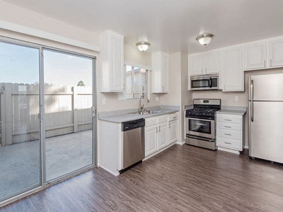 Wood Flooring and Open Kitchens at Westerly Shores