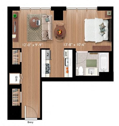 Floor Plan  Studio (S05)