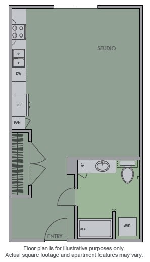 Floor Plan  A(2) Floor Plan at Olympic by Windsor
