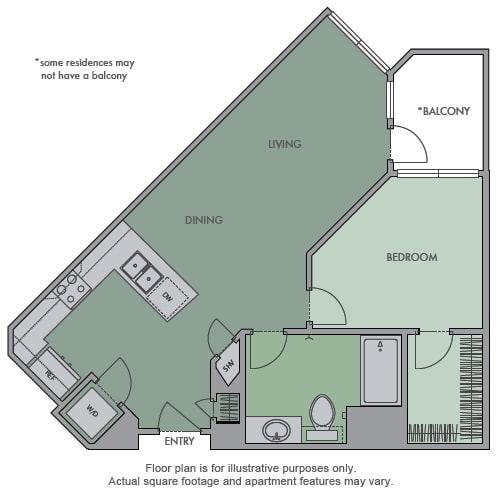 Floor Plan  C Floor Plan at Olympic by Windsor