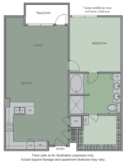 Floor Plan  G Floor Plan at Olympic by Windsor