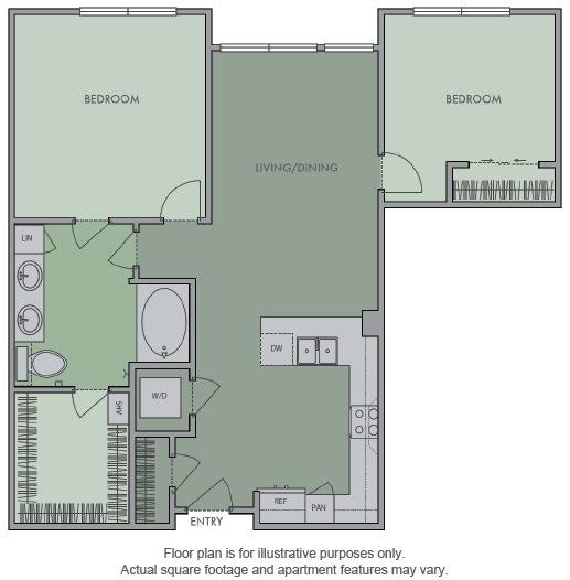 Floor Plan  J Floor Plan at Olympic by Windsor