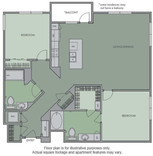Floor Plan  L Floor Plan at Olympic by Windsor