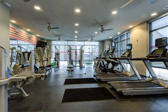 Club-Quality Fitness Center at The Langston, Cleveland, Ohio