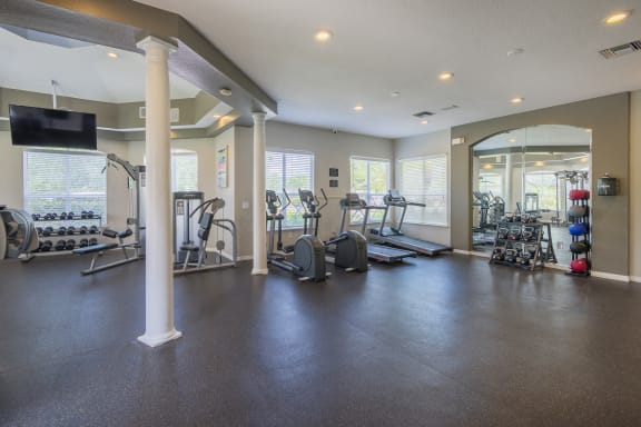 Park Del Mar Apartments state-of-the-art fitness center