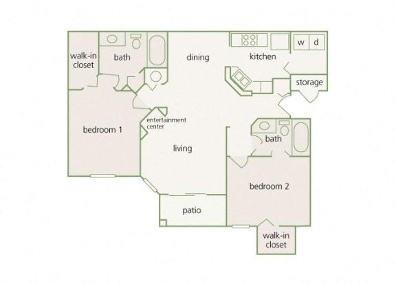 Park Del Mar - B2 - Cezanne - 2 bedroom - 2 bathroom